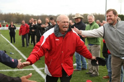 Coach Butcher says his goodbye