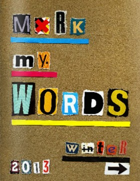 "The 'Mark My Words"" Journal"