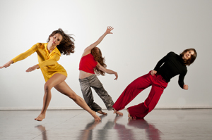 "Adele Myers and Dancers in ""Einstein's Happiest Thought"""