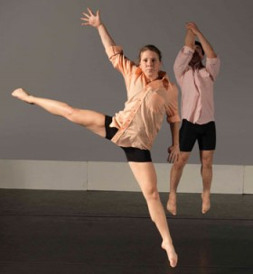 "KSC dancers Gabriella Pacheco and Alexander Davis perform in ""An Evening of Dance"""