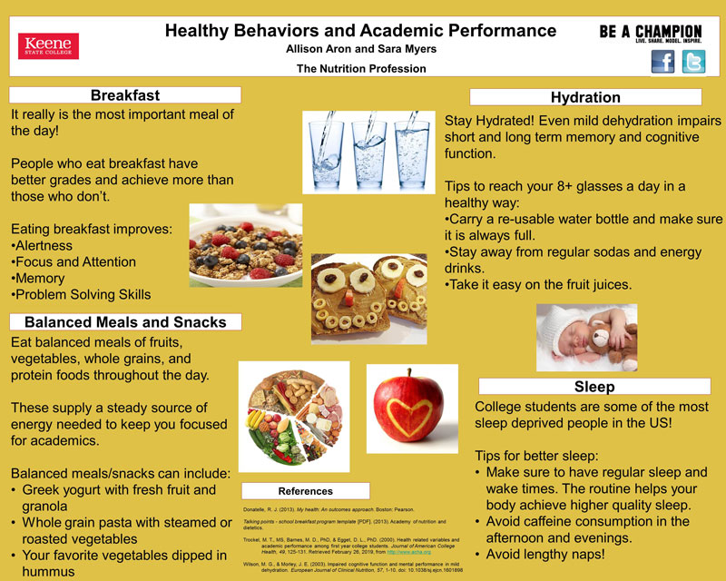 Student Poster & Video Projects · Center for Health & Wellness ...