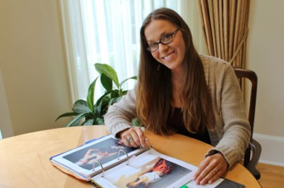 With the help of a Summer Undergraduate Research Fellowship, Nicole Baker, a nontraditional student and air force veteran, is taking a look at the ways images of underweight women in the media affect young women's self-esteem.