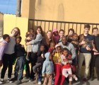 The Honors students make some friends in the Cape Town townships.