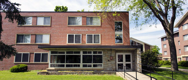 Monadnock Hall 183 Residential Life 183 Keene State College