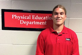 Ryan Hart selected to represent NH at SHAPE America Convention