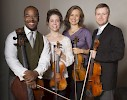 The Apple Hill String Quartet—on campus for three days starting March 30