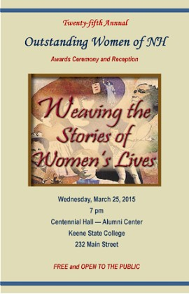 The 2015 Outstanding Women of New Hampshire