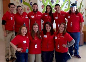 Students Spend Winter Break at Le Bonheur Children's Hospital in Memphis