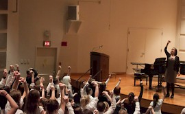 Keene State Hosts First Allegro! Elementary Choral Festival