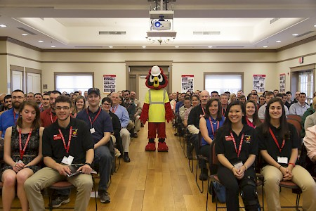 The American Society of Safety Engineers (ASSE) Professional Development Conference gets a visit from Hootie.