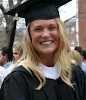 Caitlin Proce '14. all smiles at graduation