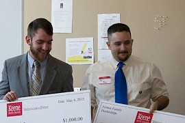 Fenton Family Dealerships Honors Keene State Students