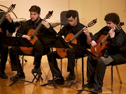 KSC Guitar Orchestra students perform throughout the year.