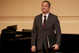 Daniel Carberg will be the featured vocalist during the Sept. 27 Faculty Artists Recital.