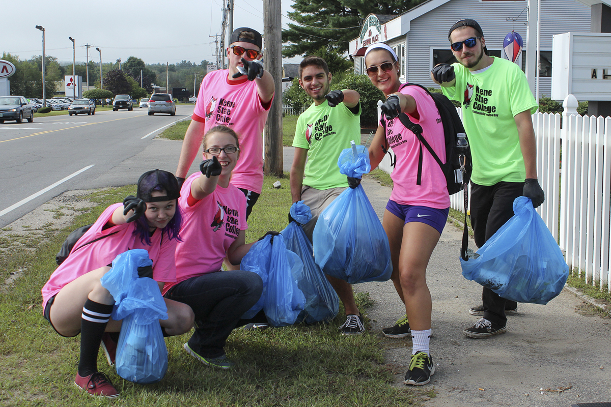 2015 new student community service day · keene state college 2015 new student community service day