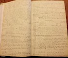 One of Dudley Leavitt's notebooks to be transcribed through the Citizen Archivist project