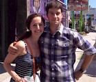Steve Gibler '09 and his cousin Nicole
