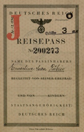 Holocaust Survivor Passports Offer Intimate Lessons in History