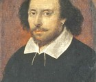 Oil portrait of Shakespeare