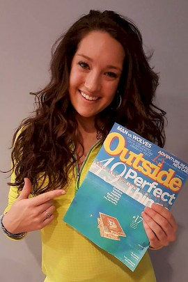 Journalism Grad Applies Internship Experiences at Outside Magazine
