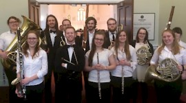 Keene State Musicians Perform in Intercollegiate Band