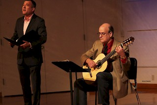 Jose Lezcano and other guest artists perform Oct. 9.