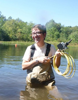 Dr. Burchsted and Student Researchers Study Rivers after Dams are Removed