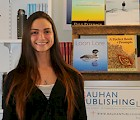 Jocelyn Lovering '15 on the job at Bauhan Publishing