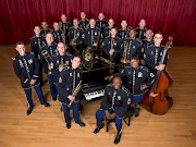 The US Army Jazz Ambassadors play a variety of big band, jazz and swing music.