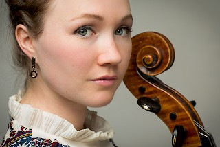 Ashley Bathgate, an acclaimed cellist, will accompany Lil Buck as he dances.