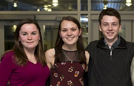Keene State Sends Three Students to Dartmouth on ISURF Grants