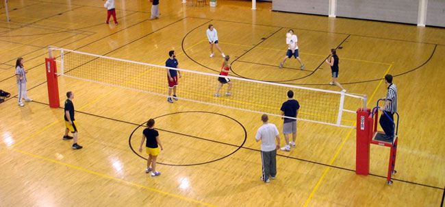 Coed Volleyball