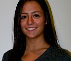 Economics major Amanda Pires '16 – the Massachusetts Convention Center Authority's new financial analyst
