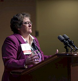 President Anne Huot Honored for Dedication to Higher Education
