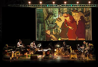 Triplets of belleville screened with live orchestra - Bureau change bastille ...