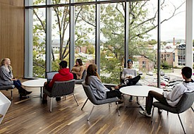 Keene State's New Living Learning Commons Engages New Students