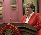 Keene State College President Anne Huot