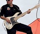 Jordan Kimble '08, bassist and tour manager for the US Air Force rock band, Full Spectrum
