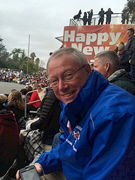 Andy Soucy '72 Takes Londonderry Band to Tournament of Roses Parade – again
