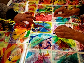 Colorcycle Invites Locals Young and Old to Create at the Thorne