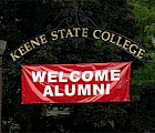 Welcome Alumni banner at the Appian Gateway