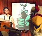 Puppet Showplace Theatre's musician Chris Monti performs in Tall Tales! Stories and Songs from New England on Saturday, February 25, at 11 a.m.. All tickets are only $5.