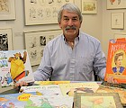 David White plans to keep his connection to the Children's Literature Festival and the Festival Gallery going.