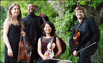 The Apple Hill String Quartet will perform at the Season Preview Party.