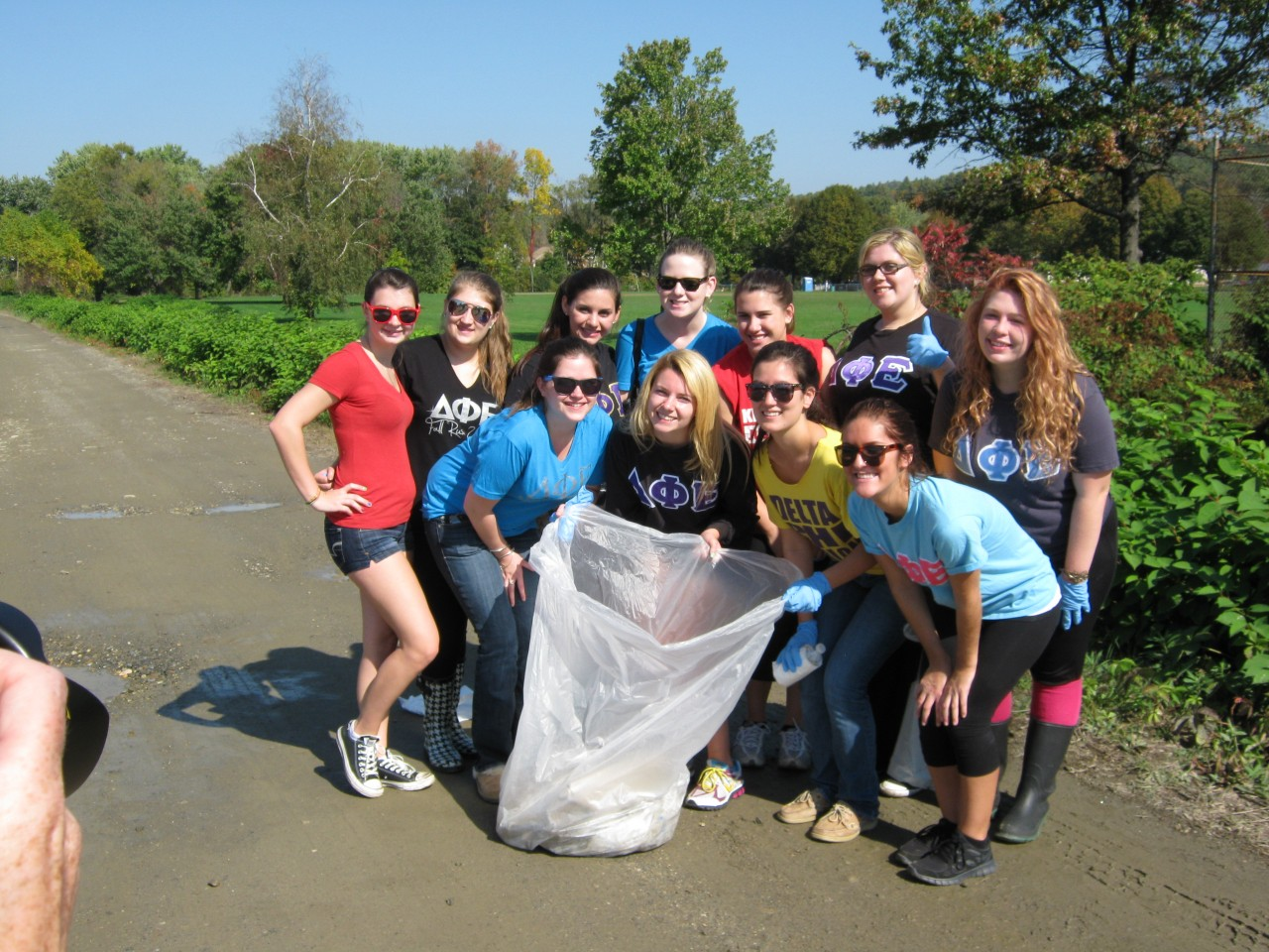 keene state college community service day · keene state college third place eric swope