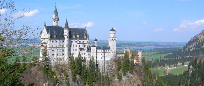 Neuschwanztein Castle in Germany