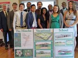 Communicorps Students Design Vocational School for Haiti