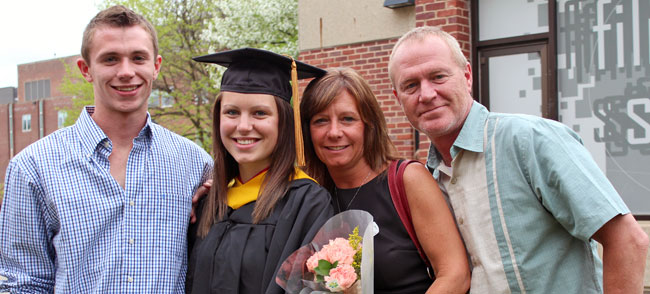 Parents at Commencement