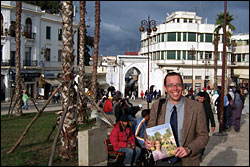 Roberson in Tangier photo.