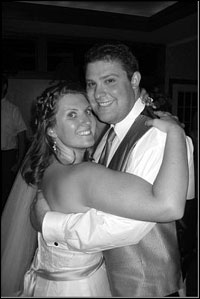 Seth '04 and Julie Cohen '05 wedding photo